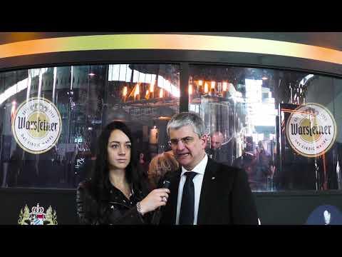 Luca Giardiello presenta Warsteiner Concept Pub a Beer Attraction 2019