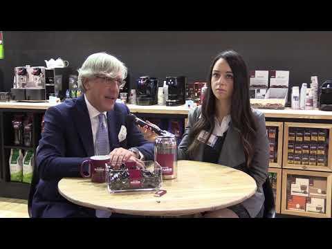 Michele Rizzo di Caffè Mauro a Triestespresso 2018