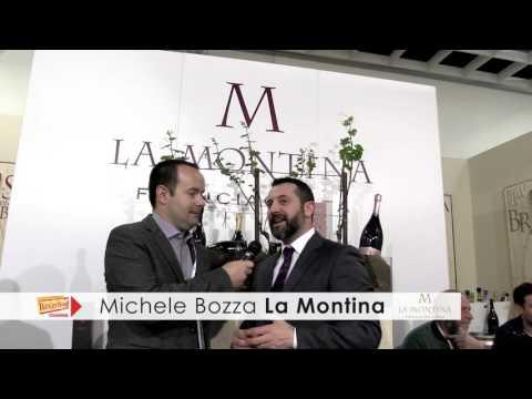 Michele Bozza La Montina - Vinitaly 2016 intervista Beverfood.com
