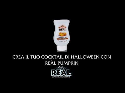 Crea il tuo cocktail per Halloween con Real