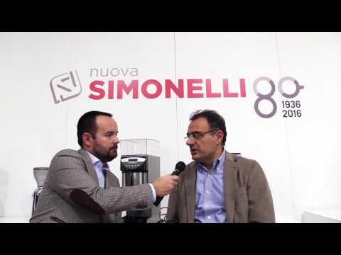 Maurizio Giuli di Nuova Simonelli intervista a Triestespresso 2016 Beverfood.com