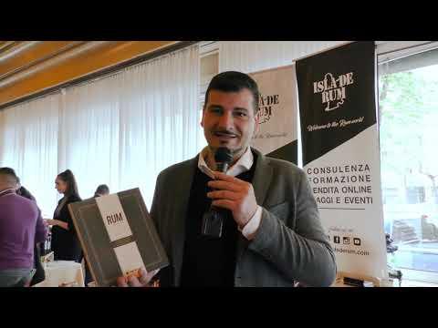 Leonardo Pinto di Isla de Rum al Milano Rum Festival 2019