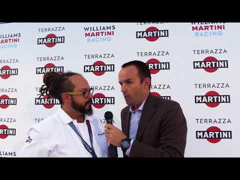 Chef Marcello Trentini del Magorabin - Terrazza Martini - William Martini Racing