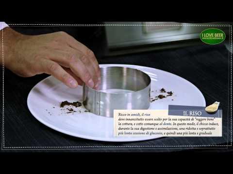 Il menù perfetto // Riso mantecato alle erbe, crema di olive taggiasche e polvere di cappero