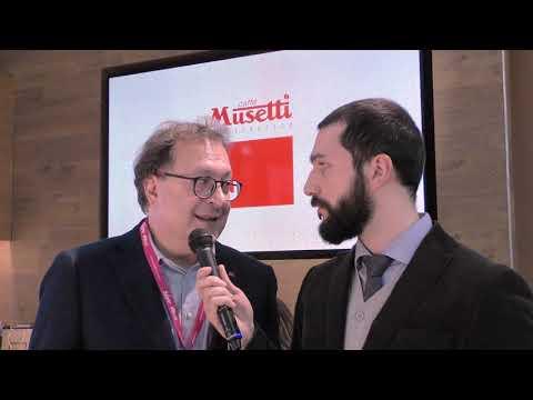 Stefano Rivò di Caffè Musetti al SIGEP 2020