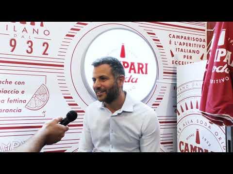 Gustavo Calì di Campari al Roma Bar Show 2019