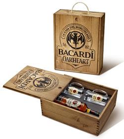 Arriva Bacardi Oakheart, il nuovo rum speziato con imballaggio in legno