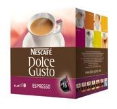 Capsule Dolce Gusto Nescafe Dolce Diverse Intensità Espresso