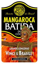"""Mangaroca Batida de Côco torna a essere protagonista sul mercato italiano con il Grande Concorso """"Vinci il Brasile"""""""