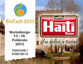 L'impegno costante della torrefazione Caffè Haiti Roma a Biofach