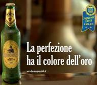 Spot Birra Moretti Baffo Perfezione Mettere Risalto Eccellenza