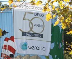 Verallia Italia festeggia il vetro nello stabilimento di Dego (SV)