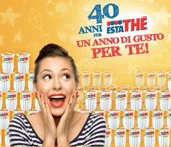 """Estathè Ferrero festeggia i suoi primi 40 anni con la promozione """"un anno di gusto per te"""""""