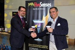 Ettore Diana, il barman campione del mondo, ha debuttato a Rimini come brand ambassador di Mavi Drink