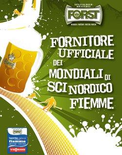Birra FORST sponsor degli eventi sportivi invernali