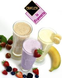 Con la FRAPPERIA ERACLEA è possibile avere  con un solo prodotto sia il frappeè che il milk shake