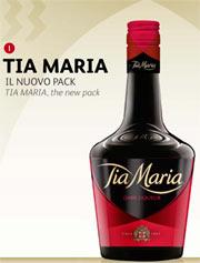 Tia Maria, il liquore al caffè di ILLVA, rinnova la sua immagine