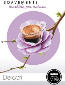 """Lavazza A Modo Mio propone  """"Sboccia Soavemente"""",  l'espresso morbido per natura"""