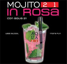 Mojito 21 in rosa: la ricetta per divertirsi senza sballare