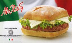 MC DONALD'S ITALIA CHIUDE IL 2009 CON UN FATTURATO IN CRESCITA DEL 9,4% E LANCIA LA LINEA MC ITALY