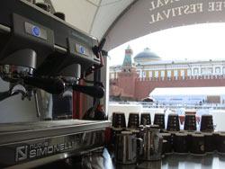 """Dieci baristi campioni e Nuova Simonelli protagonisti a Mosca all'edizione 2012 di """"Specialty Coffee Show Starring Barista Champions"""""""