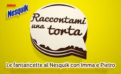 """Nesquik: nuovo format di video ricette per mamme e bambini su Cielo e Sky Uno con """"Raccontami una torta"""""""