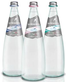 San Benedetto Prestige Bottiglie Vetro Acqua Minerale Ristorazione Partner Dinner Thè