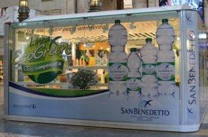 """""""Casa San Benedetto""""  apre a Milano il primo temporary store Acqua Minerale San Benedetto"""