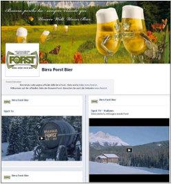 Birra Forst è ora attiva anche su Facebook