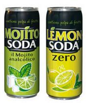 NUOVI DA CAMPARI: MOJITO SODA NO ALCOL E LEMON SODA ZERO ZUCCHERI