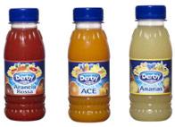 Derby Blue Succhi Derby Blue Confezioni Allegre Visibili Canale Vending
