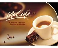 NELLA GUERRA DEI COFFEE BAR , MAC DONADS CONDUCE IN ITALIA CON 56 MCCAFÈ CONTRO ZERO STARBUCKS. CAFFE' OTTOLINA DI MILANO FORNISCE LE MISCELE  MCCAFE'