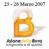 A FIERAMILANOCITY IL  SALONE DELLA BIRRA ARTIGIANALE E DI QUALITÀ, DAL 23 AL 26 MARZO 2007