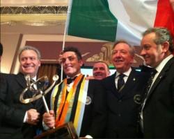 """È toscano e risponde al nome di LUCA MARTINI il """"Campione del Mondo Wordwide Sommelier Association 2013 """" al concorso organizzato dal WSA a Londra."""