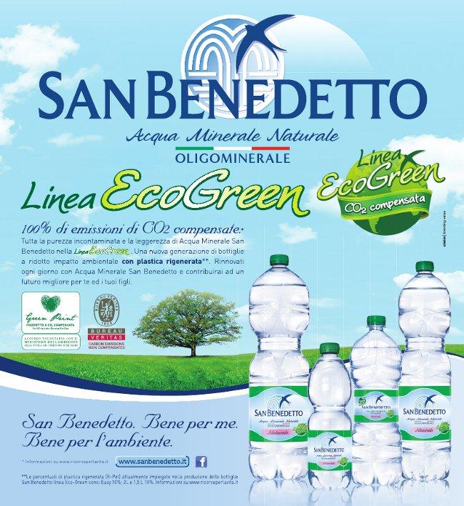 san benedetto eco green