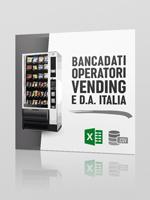 Bancadati Excel CSV  Operatori Vending e DA