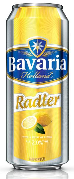 Bavaria Radler 2 Lemon Lattina