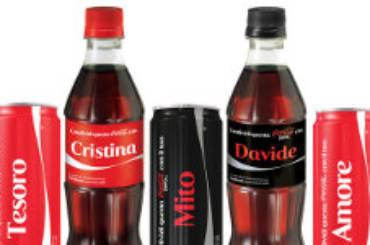 Coca Cloa lattine personalizzate