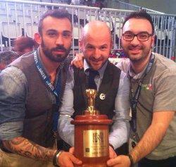 FRANCESCO SANAPO si classifica 6° al Campionato Mondiale del Caffe' in Australia