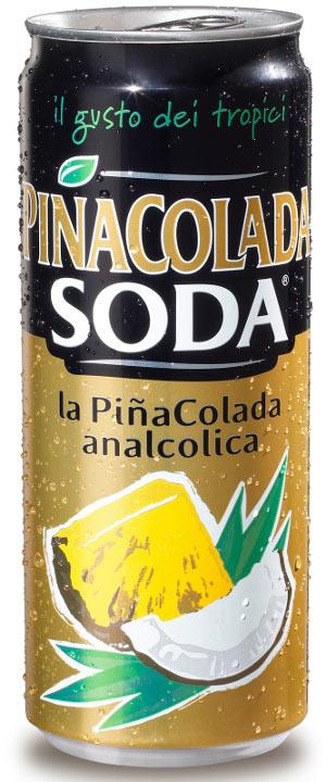 Lattina Pinacolada analcolica campari