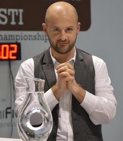 Il campione italiano di caffè FRANCESCO SANAPO al Mondiale del Caffè (WBC ) in Australia