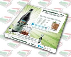 BRANCAMENTA fa la pubblicità sui cartoni della pizza con AdvertPizza