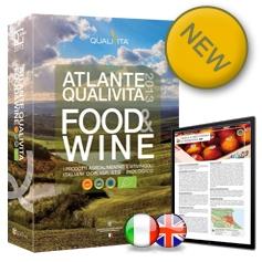 ATLANTE QUALIVITA FOOD&WINE 2013: tutti i prodotti agroalimentari di qualità in un solo volume.