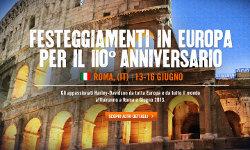 Acqua VALMORA a Roma con Harley Davidson
