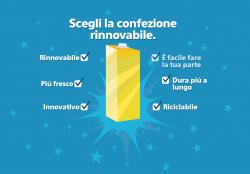 TETRA PAK: parte la campagna on line sulla rinnovabilità delle proprie confezioni