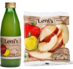Dal Trentino Alto Adige arrivano i nuovi snack e succhi di mela LENI'S
