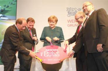 Angela Merkel Nescafé Dolce Gusto