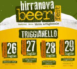 Arriva il BIRRANOVA BEER FEST, gastronomia di qualità e musica: