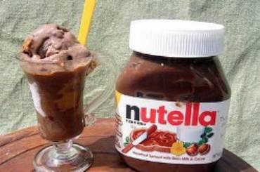 gelato-NUTELLA
