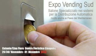 Expo Vending Sud Fiere Vending Expo Catania Segnale Ottimismo Comparto